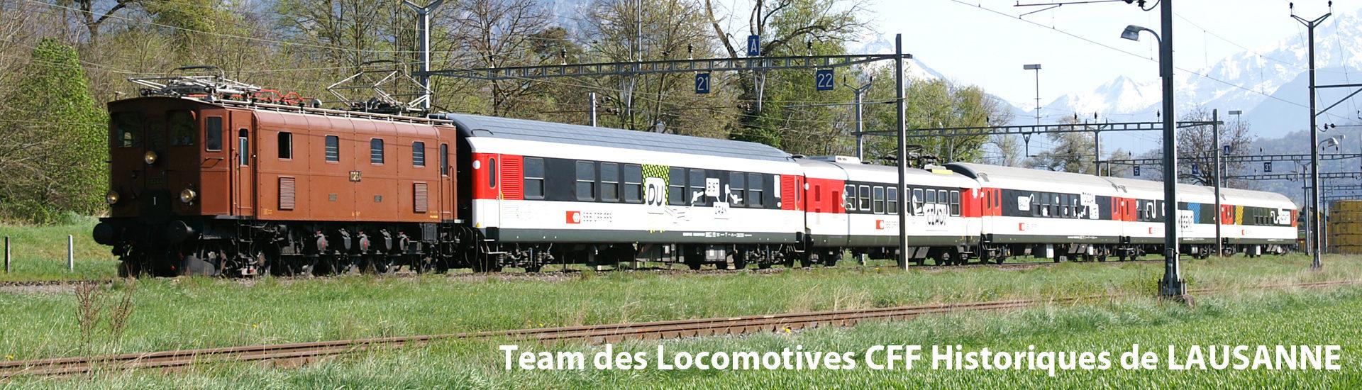 Team des Locomotives CFF Historiques de LAUSANNE
